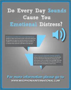 sound distress misophonia