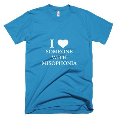 """""""I ❤ Someone With Misophonia"""" Shirt (Select Color)"""