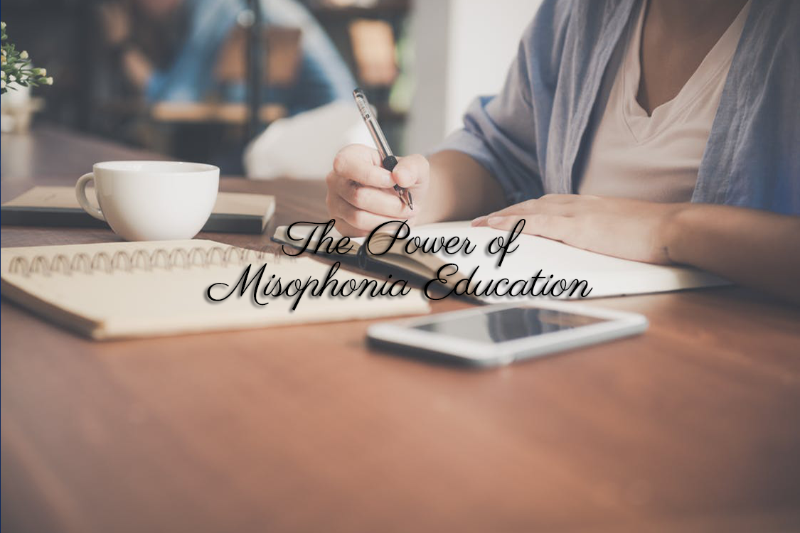 power of misophonia education