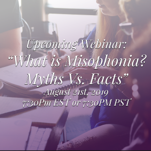 misophonia myths vs facts webinar
